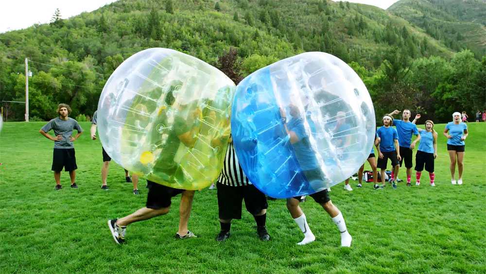 Bubble football i Malmö