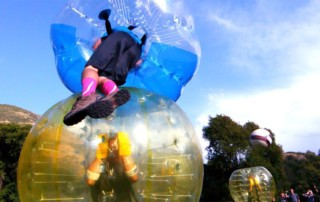 bubble football Stockholm